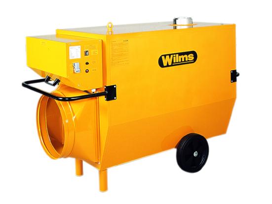 Wilms® BV 265 Heissluftturbine mit Abgasführung