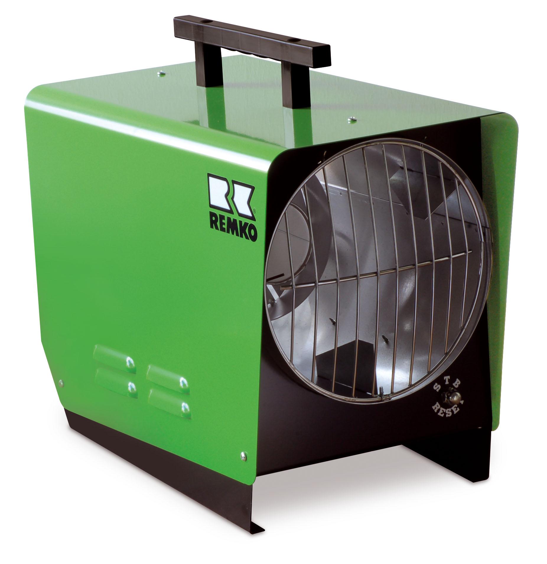REMKO Gas-Heizlüfter PGM 30 - Schnelle Punktbeheizung für drinnen und draußen