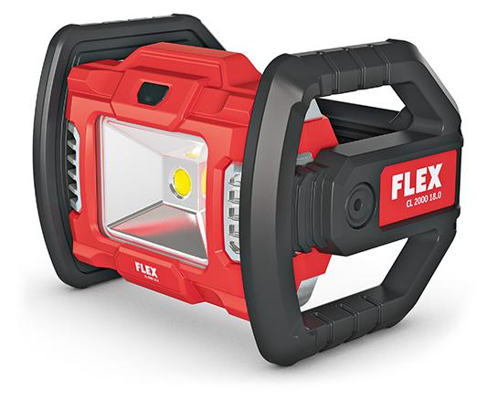 FLEX CL 2000 18.0 LED Akku-Baustrahler 18,0 V
