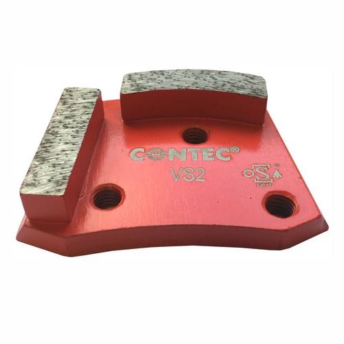 CONTEC Schleifschuh Diamant EasyChange VS2 Rot