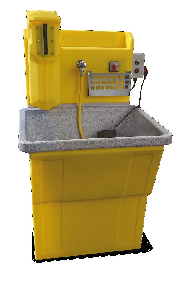 STROBBER WAW 800-B Werkzeug Waschsystem - Mit integrierter Wasseraufbereitung