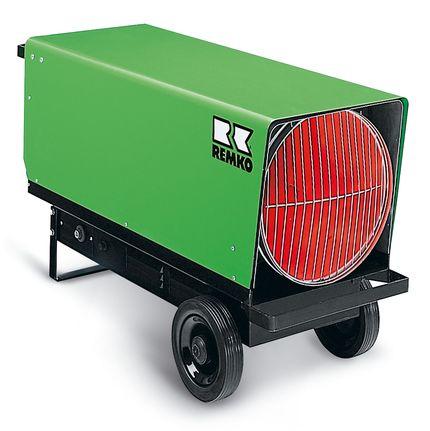 REMKO Gas-Heizlüfter PGT 100 - Schnelle Punktbeheizung für drinnen und draußen