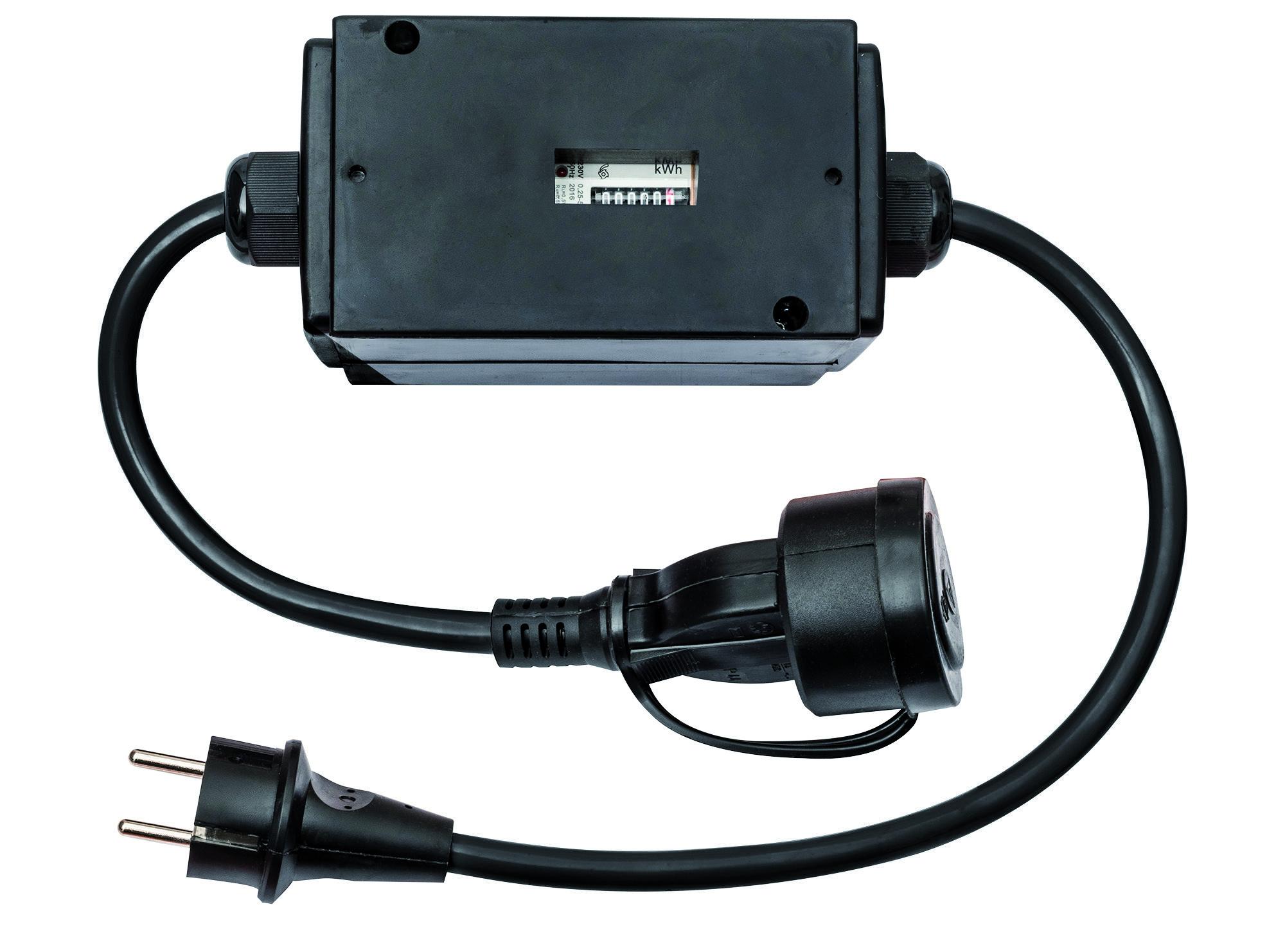 Stromzähler mit hochbruchfestem Gehäuse - zu Abrechnungszwecken geeignet - MID geeicht - 10 Stk.