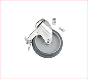 Tapofix Lenkrolle mit Totalfeststeller   100mm   1 Stück - Für CB N
