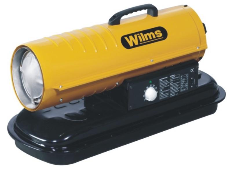 Wilms® B 70 Heißluftturbine ohne Abgasführung