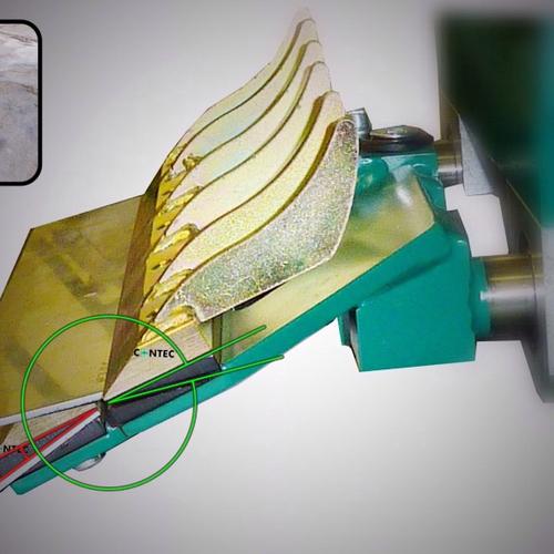 CONTEC Messerkeilleiste 250 mm +/- 10 Grad - Zubehör zu CONTEC BULL® und MULE®