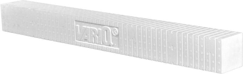 Montagequader VARIQ 100x100mm - 1m Länge
