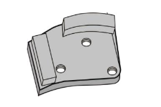 CONTEC Schleifschuh Diamant CS16 Silber