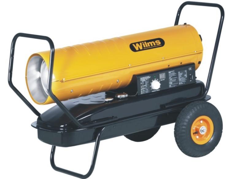 Wilms® B 125 Heißluftturbine ohne Abgasführung