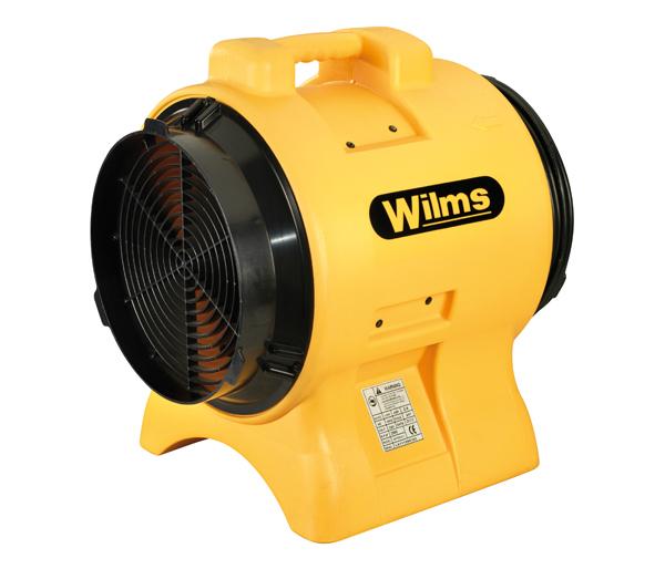 Wilms® AV 3105 - Ein kompakter Ventilator mit Axial-Gebläse