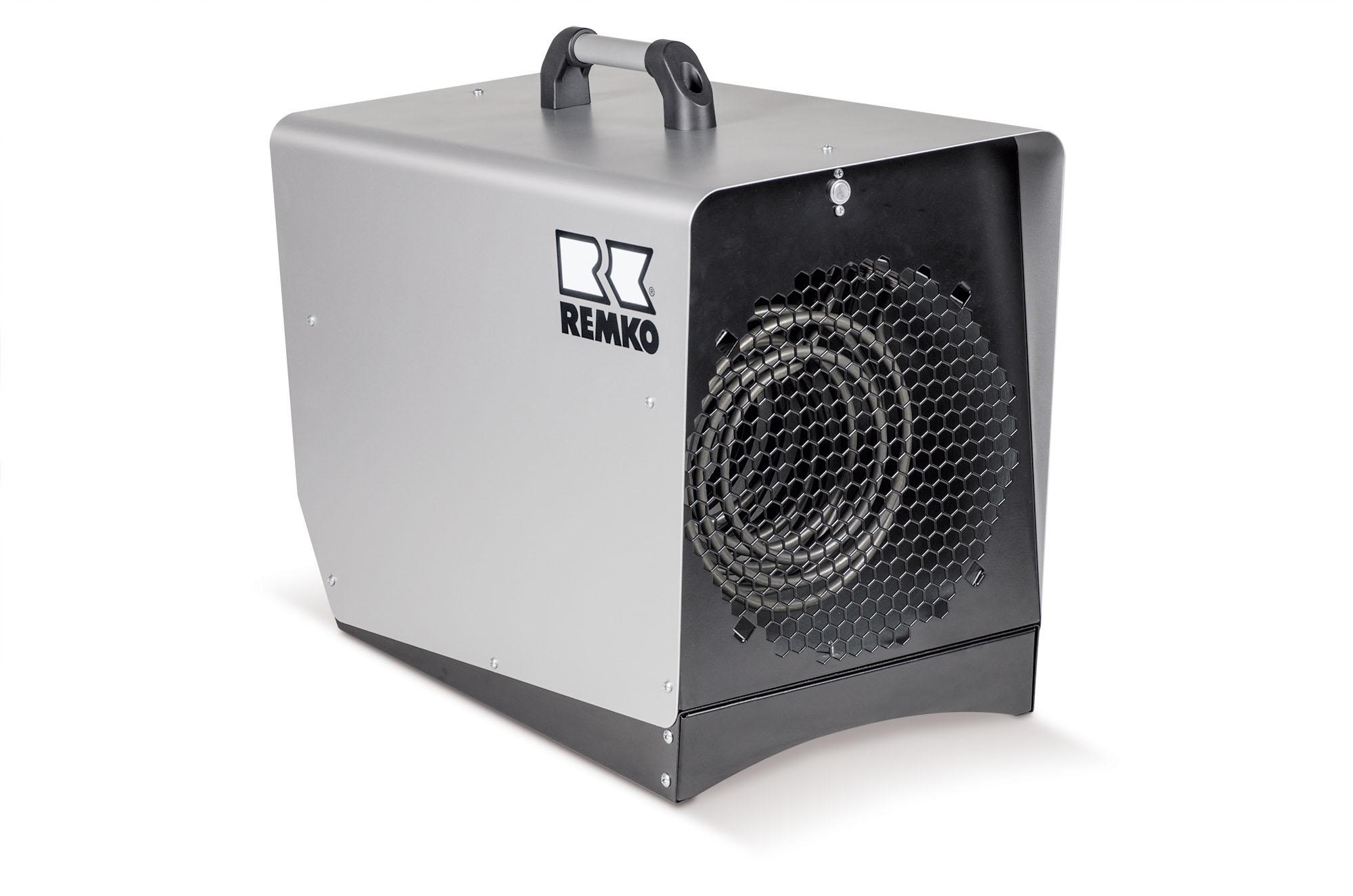 REMKO EM 2000 Mobiler Elektro Heizautomat - Schnelle Wärme aus der Steckdose