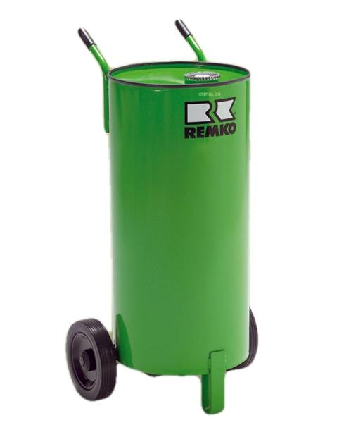 REMKO mobiler Öltank 60 L inkl. Tankheizung für REMKO CLK Serie