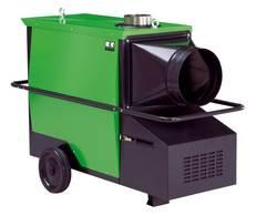REMKO Heizautomat CLK 30 mit Gebläse-Ölbrenner - Vielseitige Einsatzmöglichkeiten in der Baubeheizung