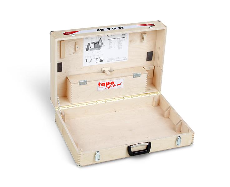 Tapofix Holzkoffer 70 N - Für Tapeziergeräte CB 70 | CB 70 N
