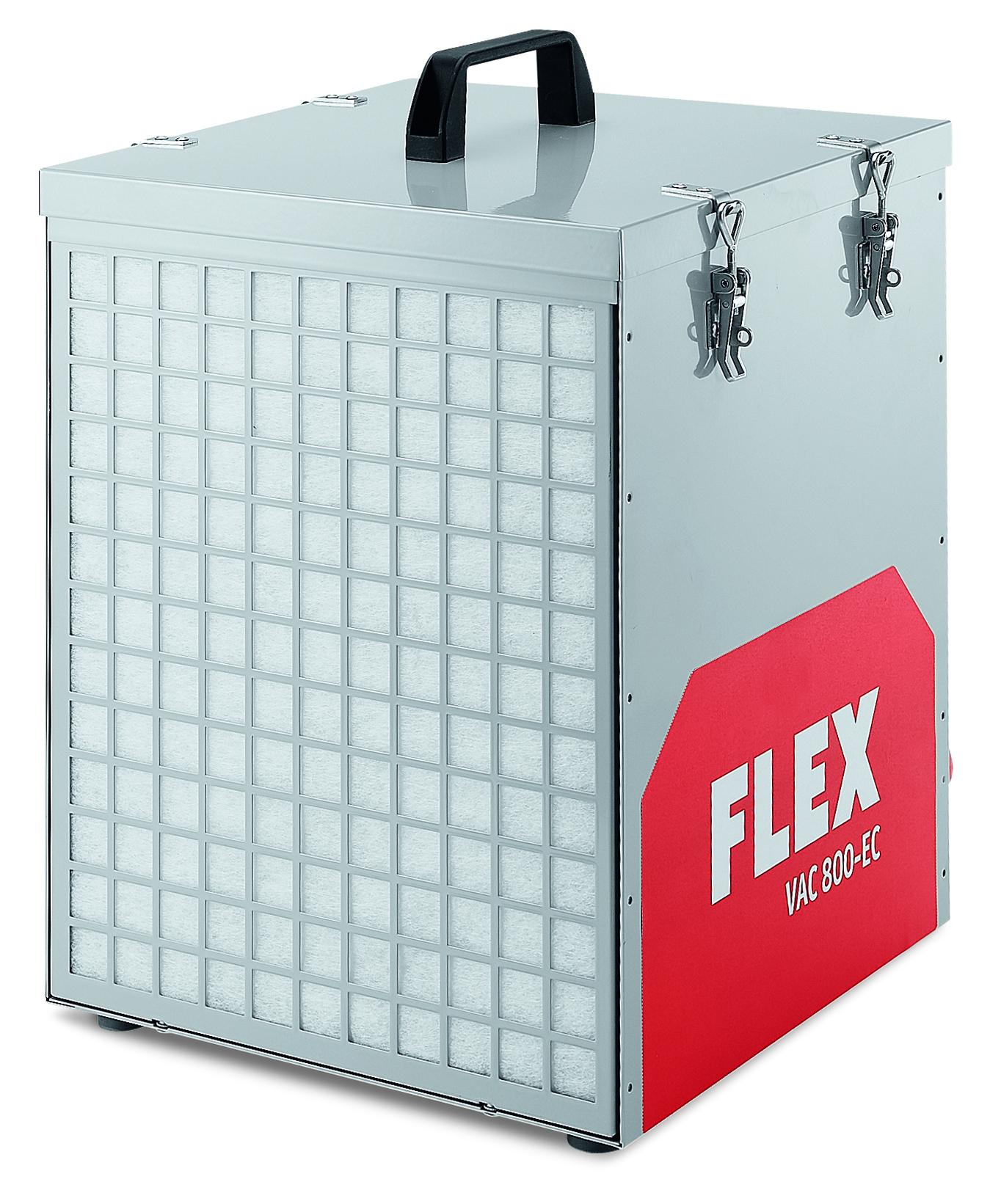 FLEX Bau-Luftreiniger VAC 800-EC - Staubklasse M / H