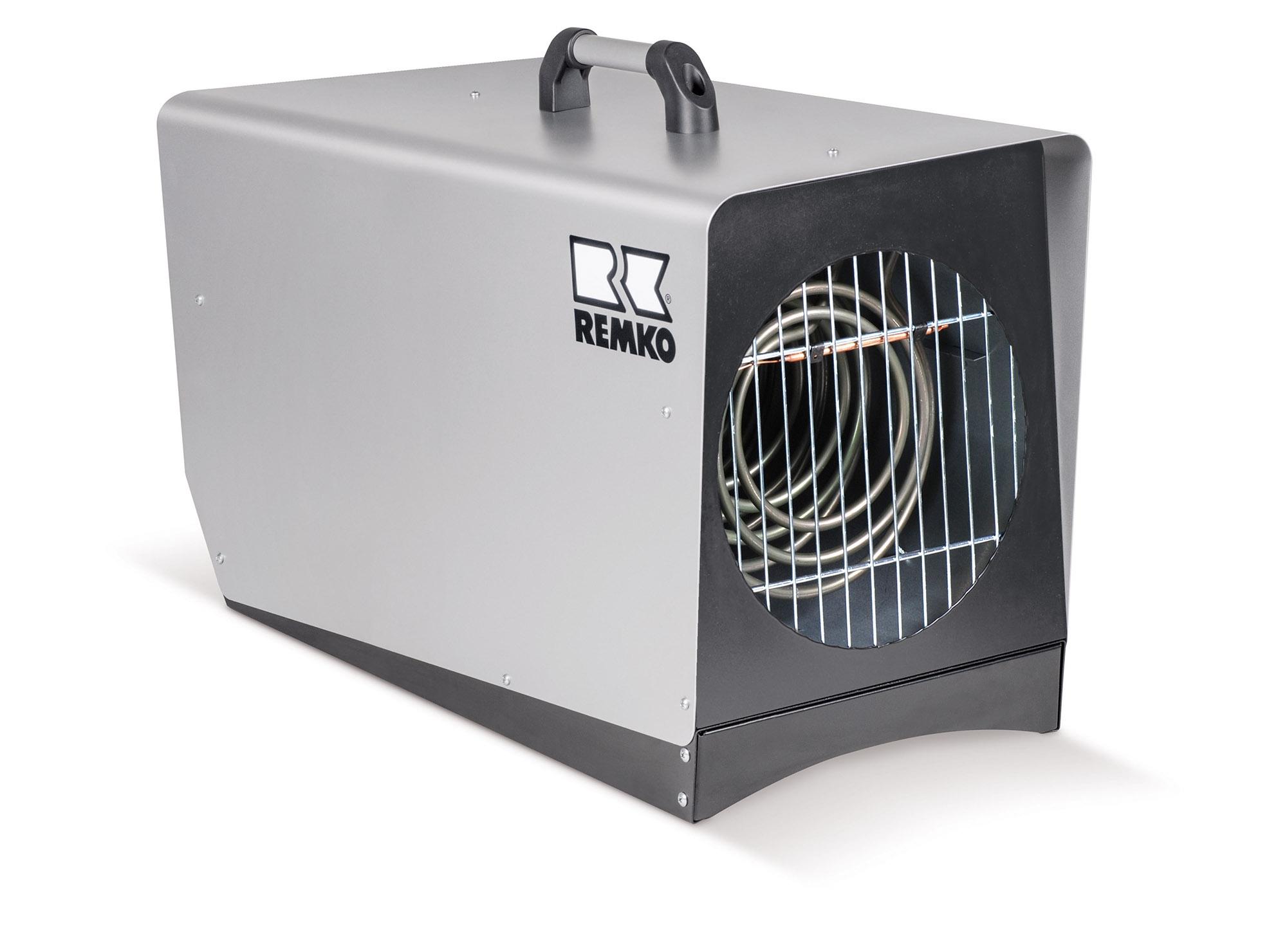 REMKO EM 18000 Mobiler Elektro Heizautomat - Vollautomatisch mit eingebautem Raumthermostat