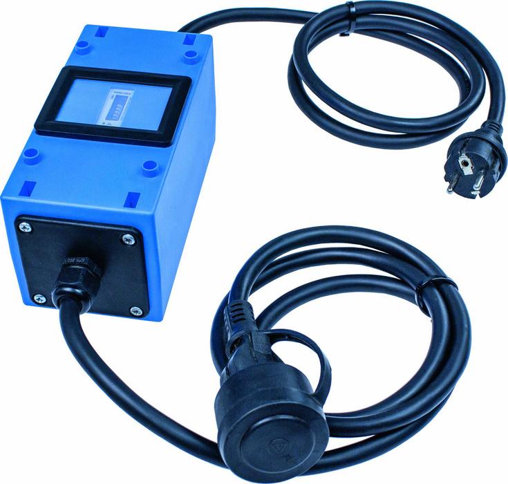 Stromzähler 230V - Integrierter Stromzähler MID geeicht und verplombt