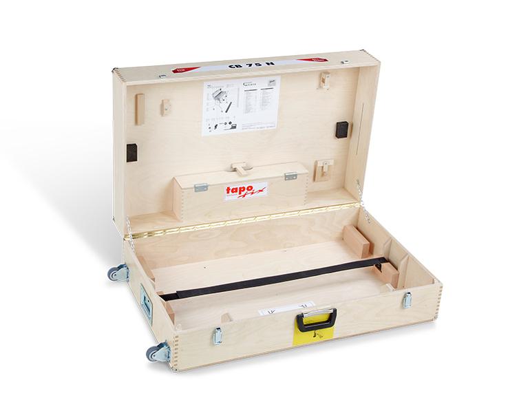 Tapofix Holzkoffer 75 N - Für Tapeziergeräte CB 75 F | CB 75 N