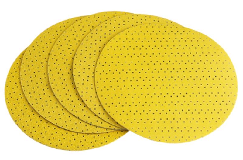 FLEX Klett-Schleifpapier (perforiert) Korn 100 - 225 Ø - 25er Pack geeignet für Giraffe GE 5
