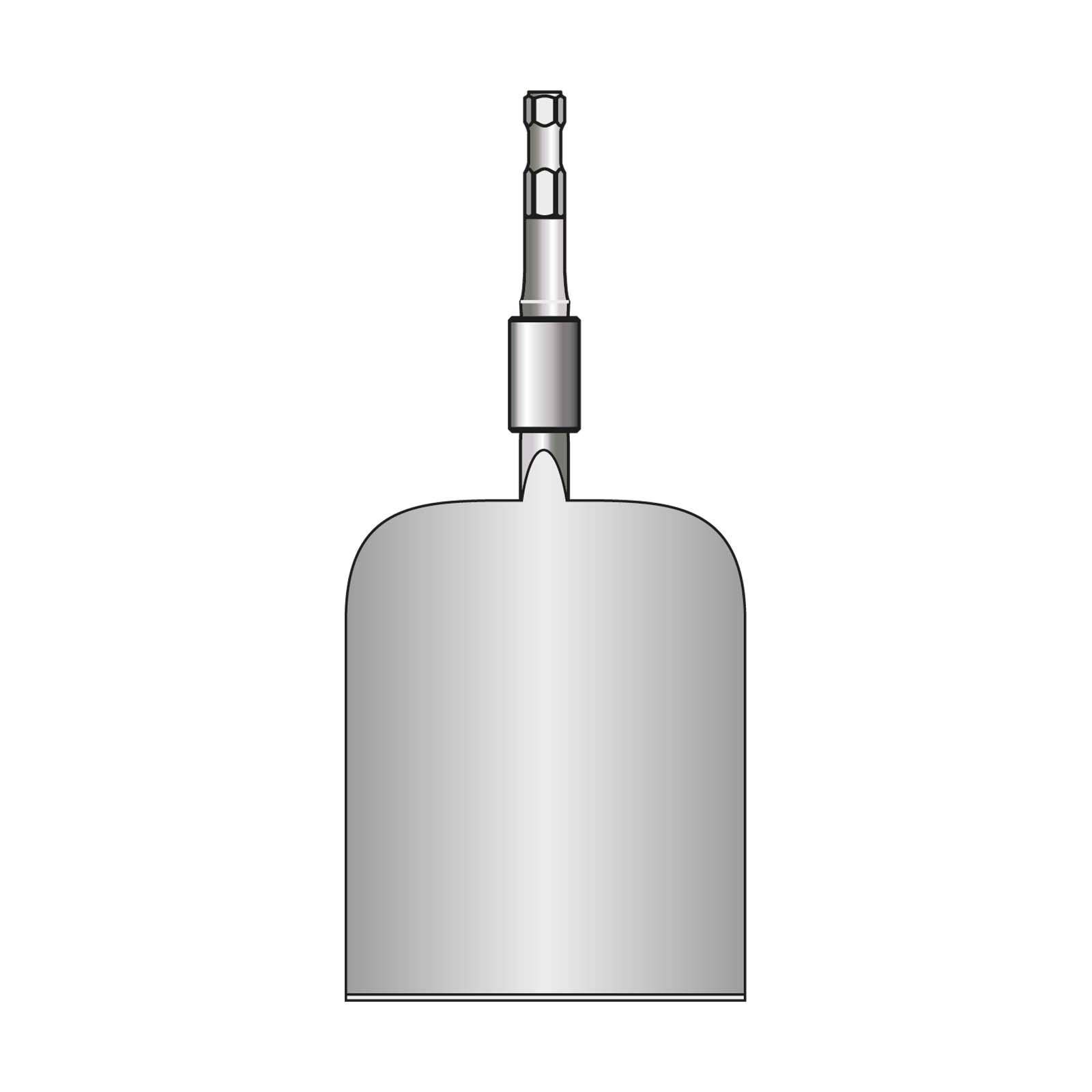 VOGT Tonspaten b = 85/120 mm, l = 470 mm