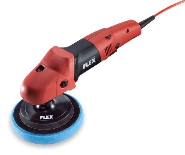 FLEX PE 14-3 125 - Ergonomischer Polierer mit Gasgebeschalter