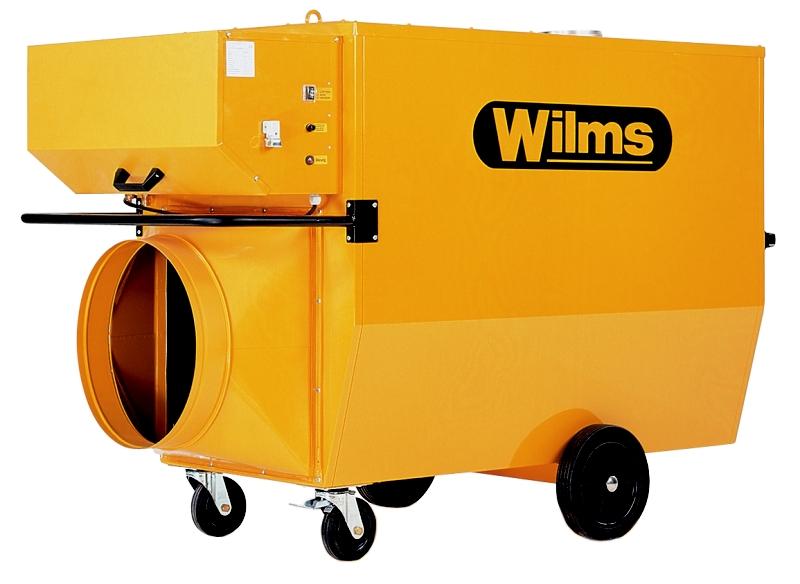 Wilms® BV 385 Heissluftturbine mit Abgasführung