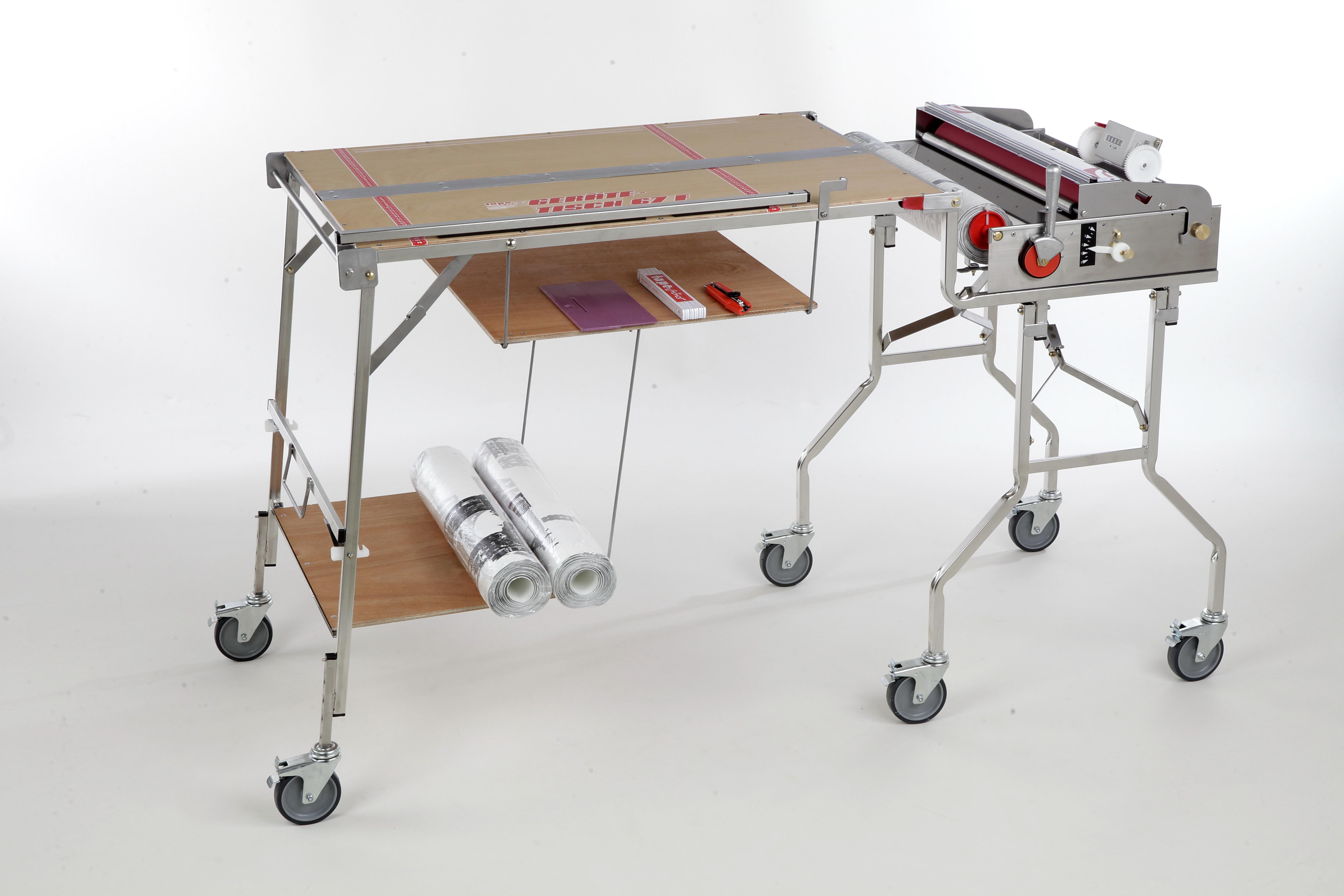 Tapofix Geräte-Tisch 67 N - Für Tapeziergerät CB 67 N