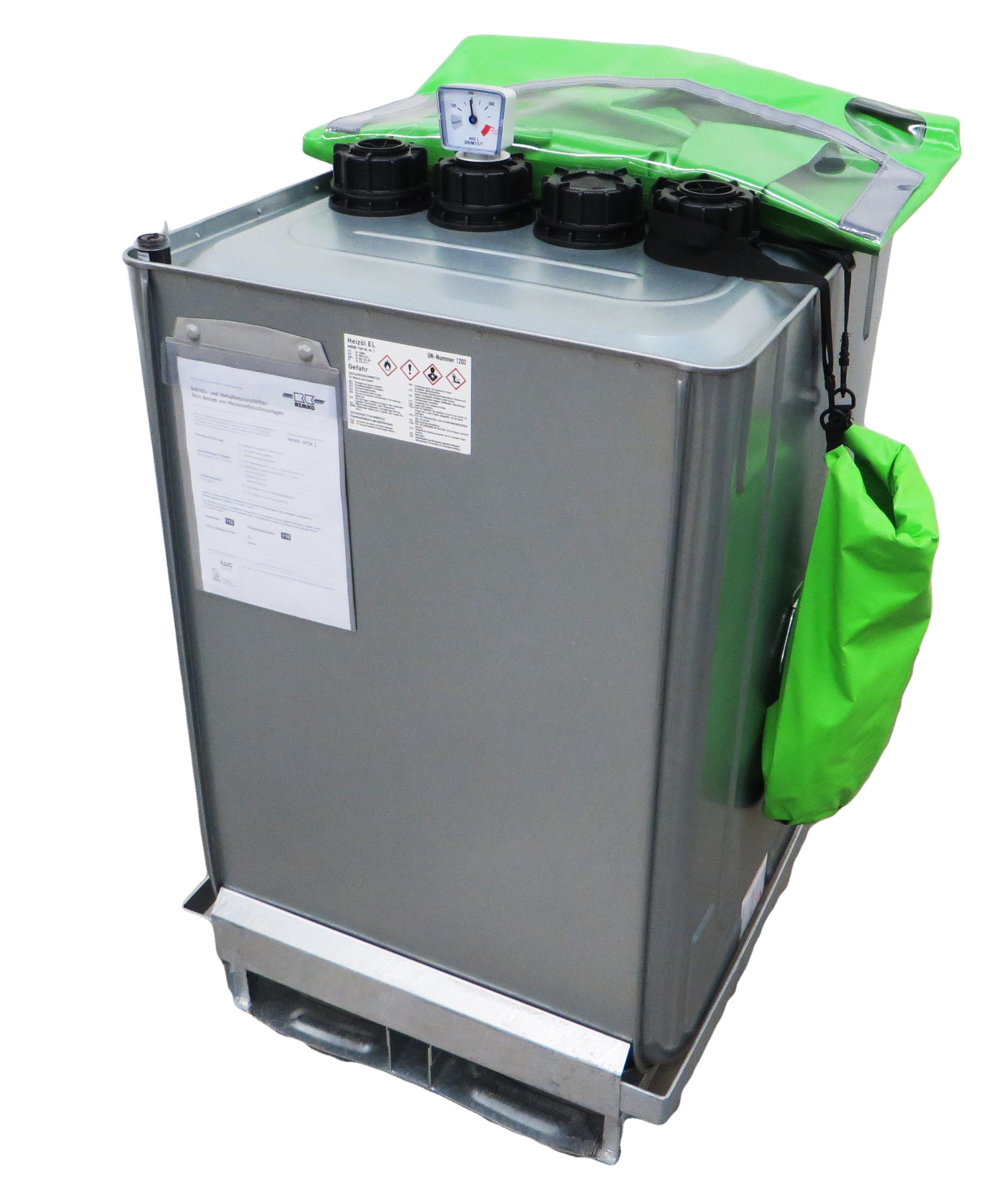 Mobiler Heizöltank Füllmenge 400 Liter für die Beheizung