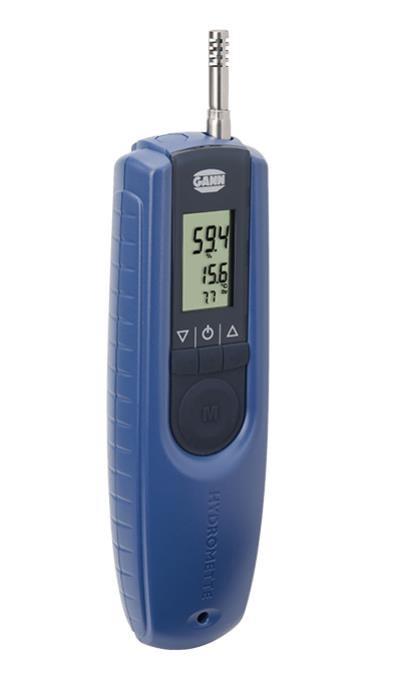 Gann Hydromette BL Compact TF 3 - präziser Thermo-Hygrometer mit auswechselbarem Messfühler