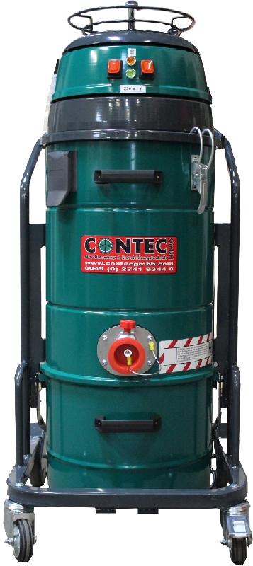 CONTEC Industriesauger CDM 1500 - Zweimotoriger Industriesauger