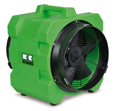 REMKO RAV 35 Axial-Ventilator - Der mobile Kraftprotz im Bau- und Sanierungsbereich