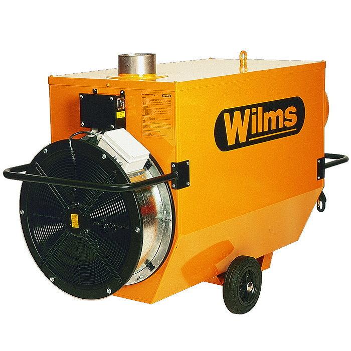Wilms® BV 385 B Heißluftturbine - Mit Abgasführung und erhöhter Pressung