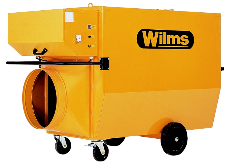 Wilms® BV 535 Heissluftturbine mit Abgasführung