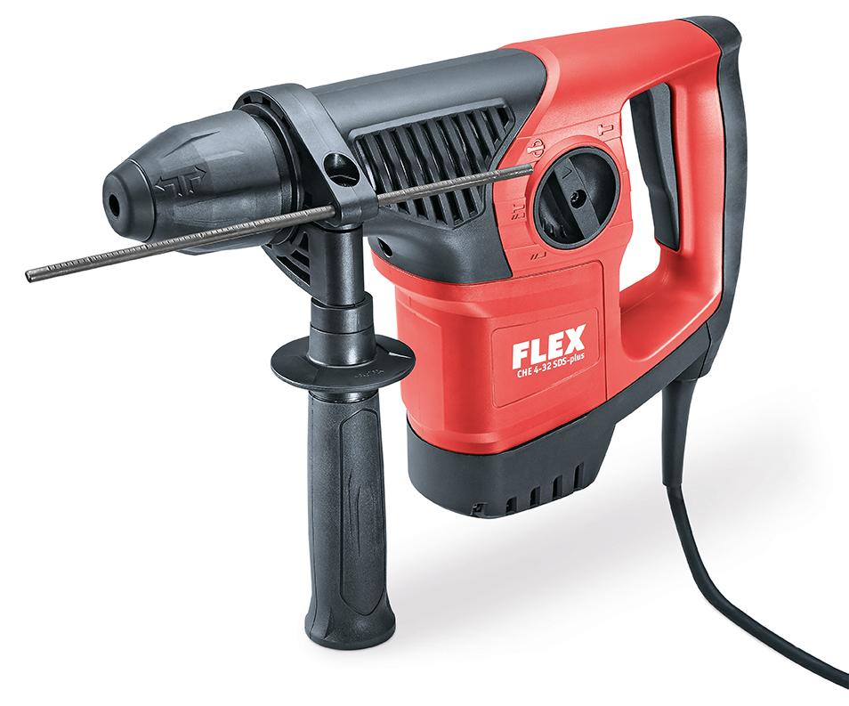 FLEX CHE 4-32 SDS-plus Kombi-Bohrhammer 4 kg