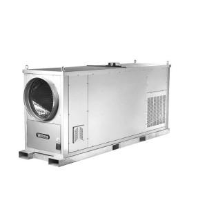 Wilms® HZ 190 mobile Heizzentrale - Die ideale Lösung bei Lüftungsproblemen