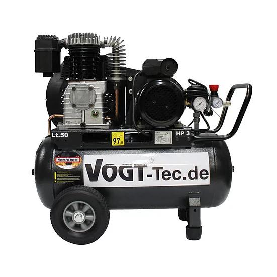VOGT Elektorkompressor 230 V - Fahrbarer Kolbenkompressor zum Betreiben von VOGT Hammer & VOGT TurboSpaten