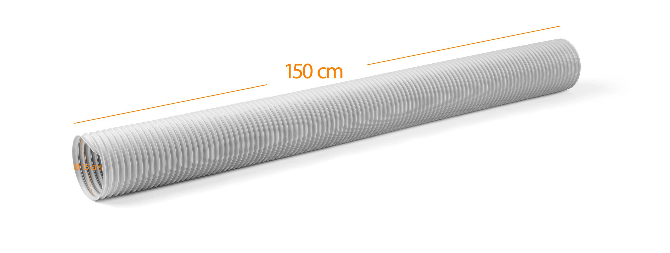 Abluftschlauch mit Anschlussstutzen für Climia CMK 2900
