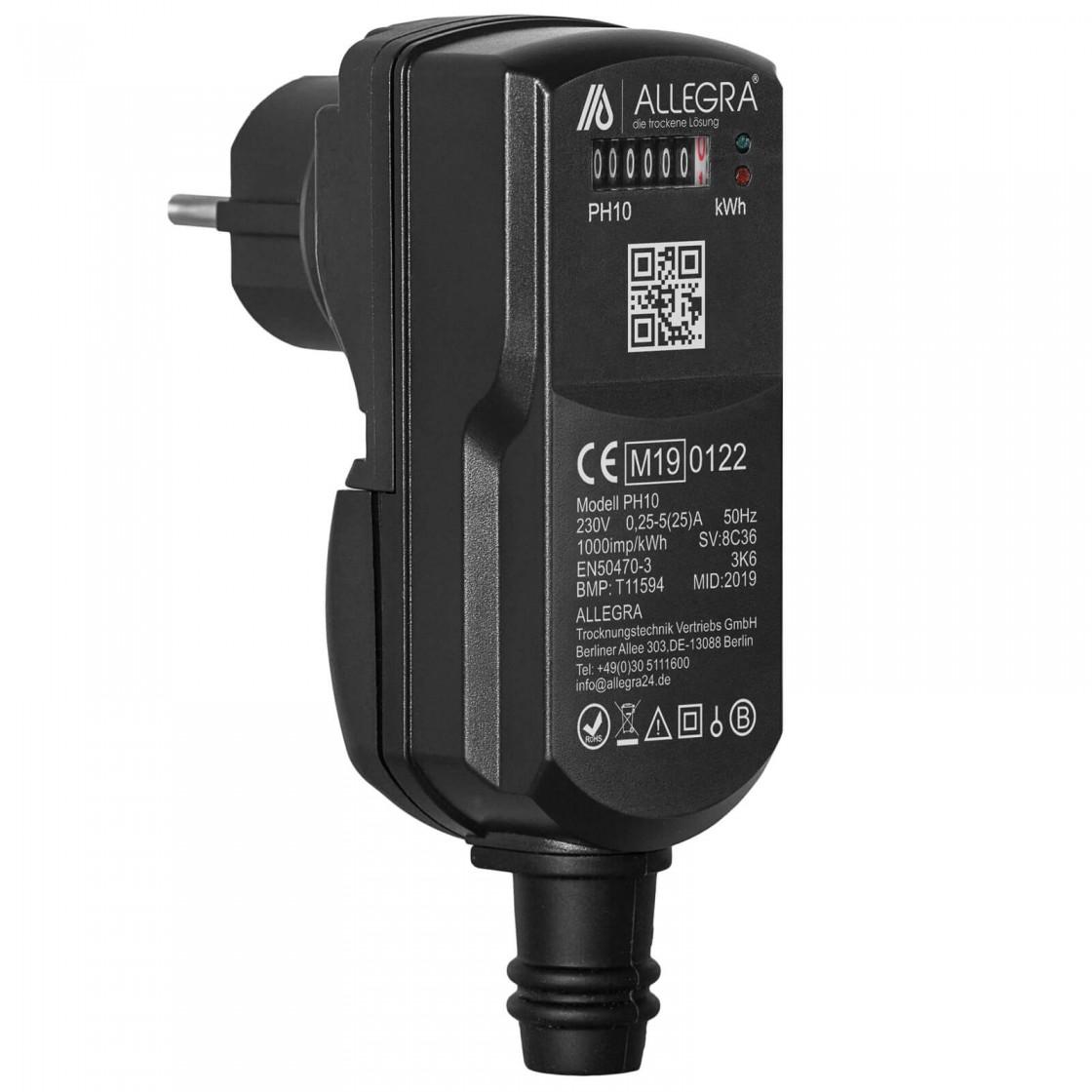 MID Schuko Stromzähler PH10 - Manipulationssichere Lösung für die Abrechnung des Stromverbrauchs