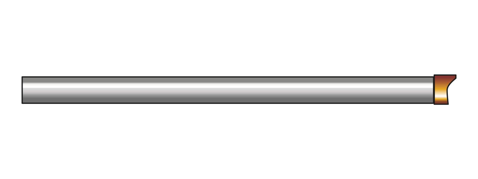 VOGT Strahlrohr grade, reduziert - Zubehör zu Vogt Luftlanze für kleine Kompressoren bis 2,35 m³/min