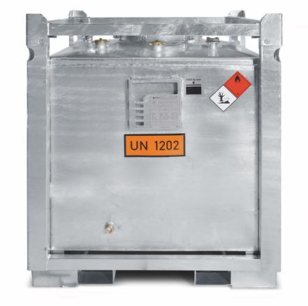 ESE ASF 800 DW -HC-  mobiler Heizöltank Sicherheitstank