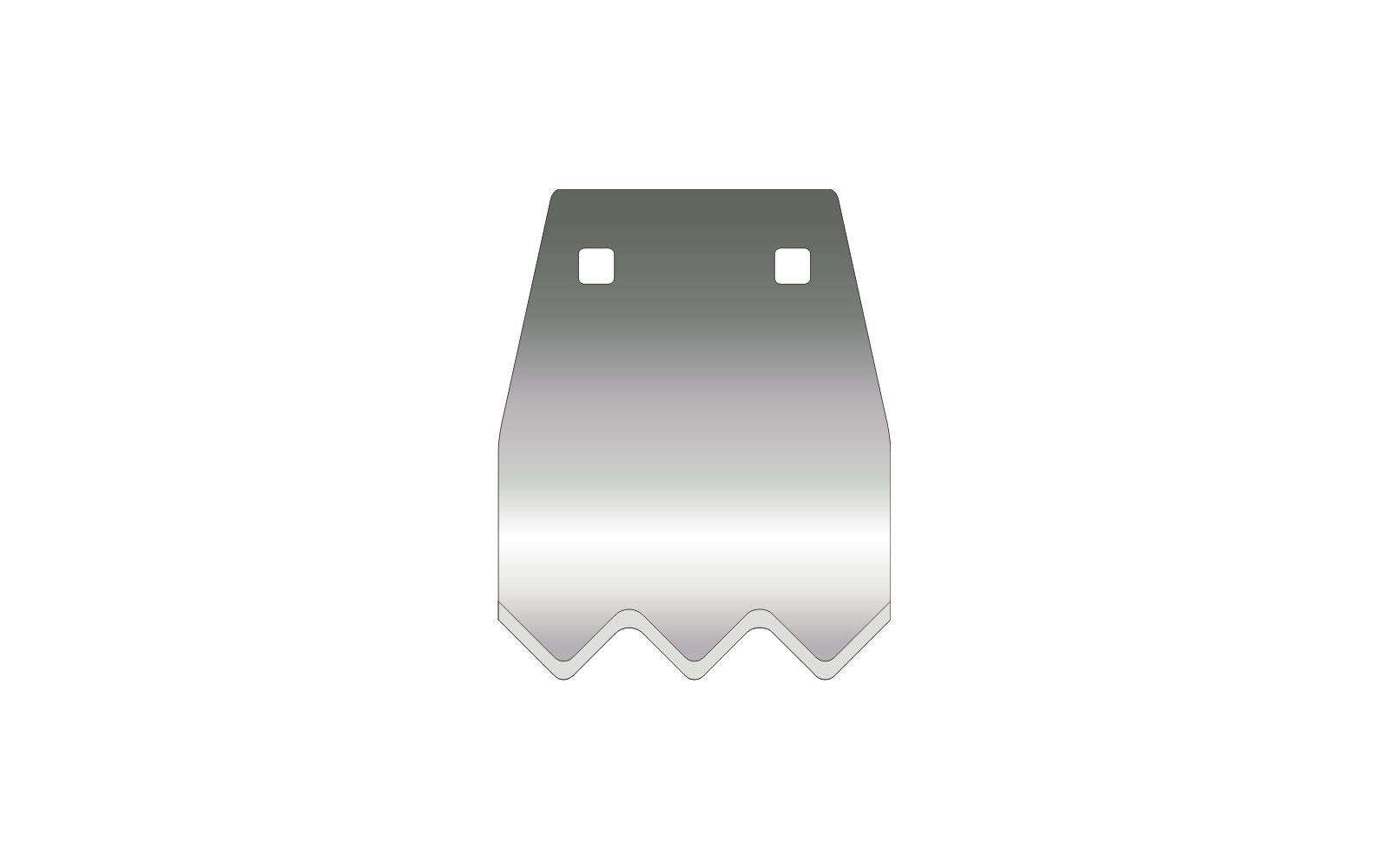 VOGT Frankenklinge B 120 F beidseitig geschliffen für Paneelbreite bis 100 mm
