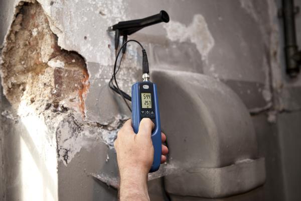 Gann Hydromette BL E - Elektronisches Dreifach-Messgerät für Holzfeuchte, Baufeuchte und Temperatur