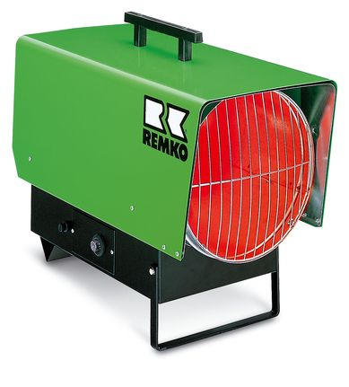 REMKO Gas-Heizlüfter PGT 60 - Schnelle Punktbeheizung für drinnen und draußen
