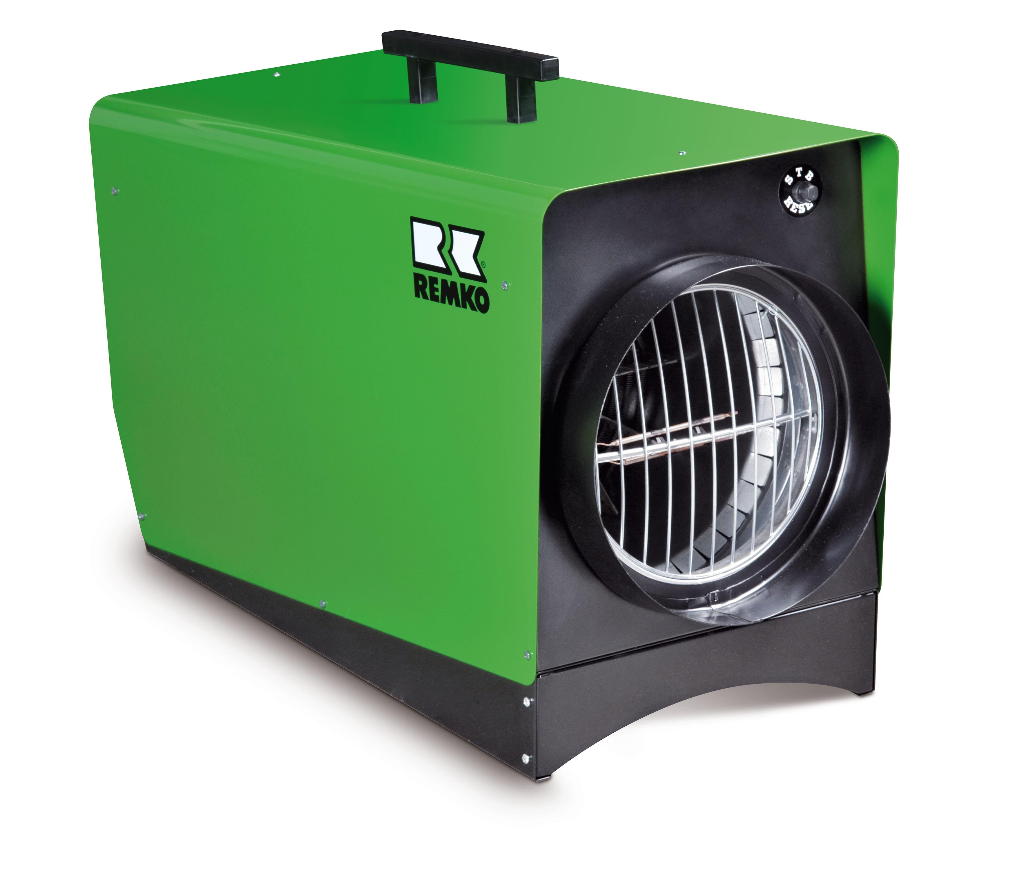 REMKO SERIE ELT HT - Elektro-Heizgerät für besonders hohe Temperaturen