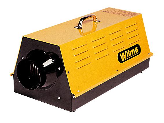 Wilms® EL 15 - Elektroheizer mit Radialgebläse