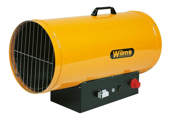 Wilms® GH 75 TH Flüssiggas-Heißluftgebläse - Mit Automatik-Zündung