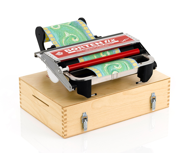 Tapofix BORTENfix Tapeziergerät mit Holzkoffer