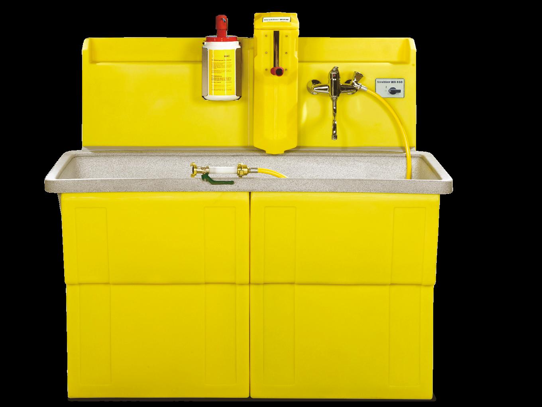 STROBBER WAW 1500-B Werkzeug Waschsystem mit Farbwalzenreiniger und integrierter Wasseraufbereitung