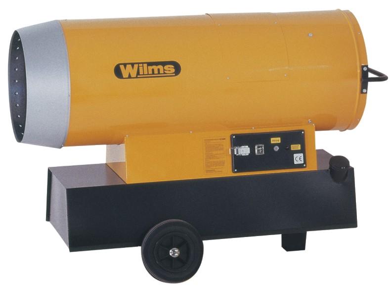 Wilms® B 350 Heißluftturbine ohne Abgasführung