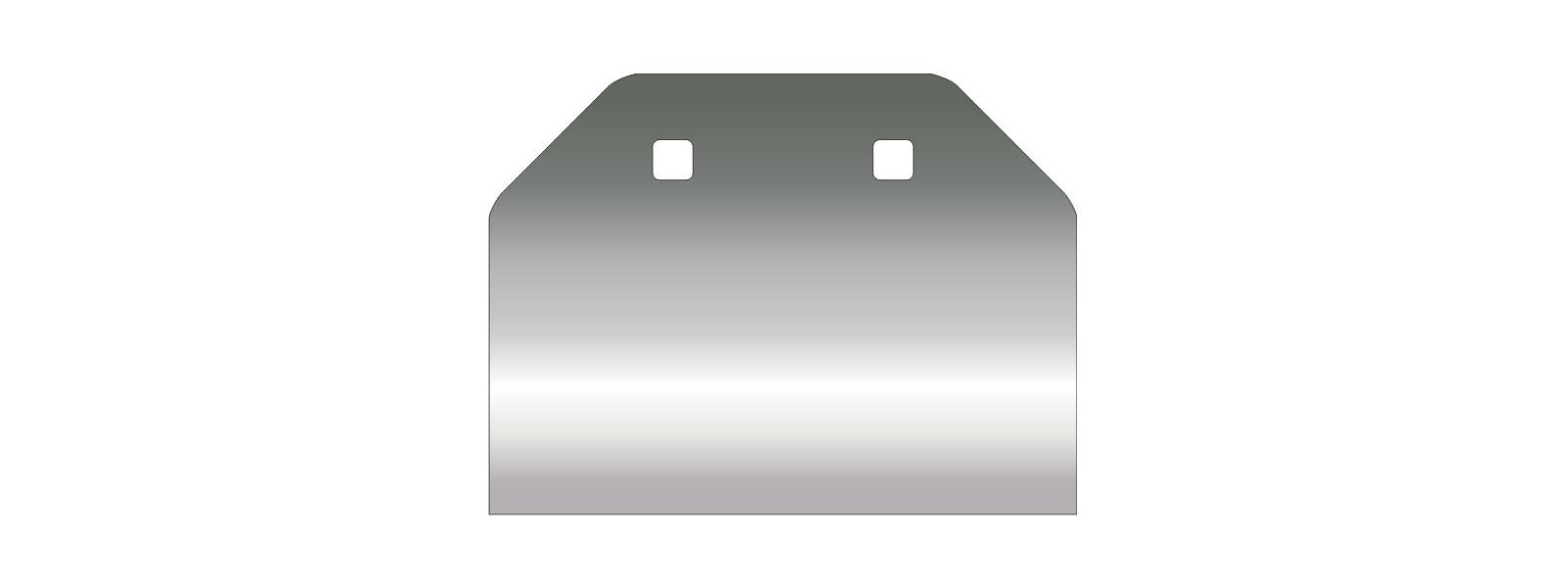 VOGT Schaber 120/160 mm stumpf